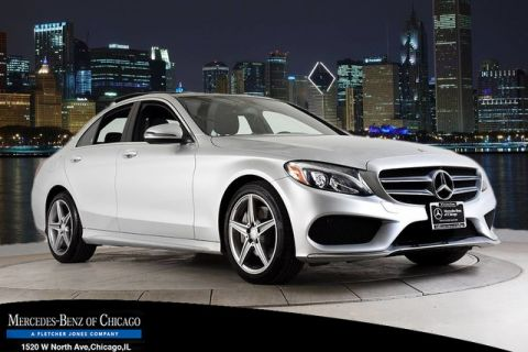 Certified Pre-Owned 2016 Mercedes-Benz C 300 Sport P2, SPORT, PANO, 18 AMG® 4MATIC®