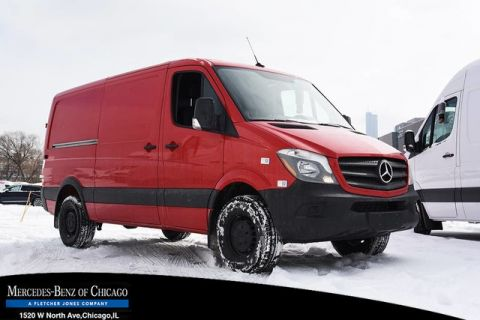 New 2017 Mercedes-Benz Sprinter Cargo Van