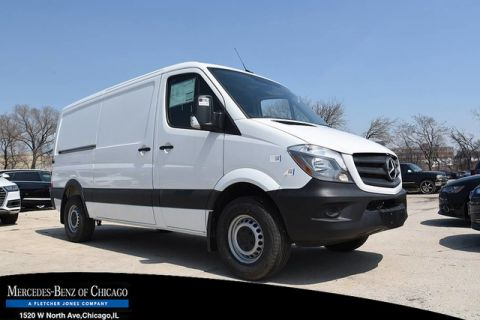 New 2017 Mercedes-Benz Sprinter Cargo Van Worker