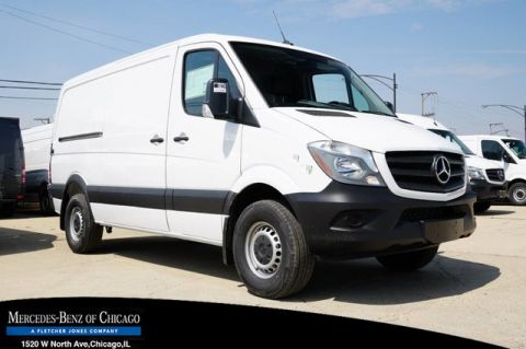 New 2018 Mercedes-Benz Sprinter Cargo Van Worker