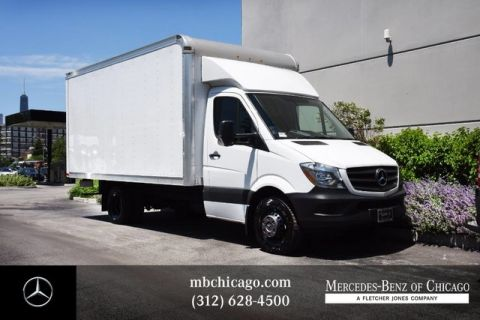 Pre-Owned 2018 Mercedes-Benz Sprinter Cargo Van High Roof Box Truck