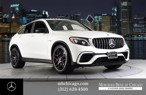 Certified Pre-Owned 2019 Mercedes-Benz GLC AMG® GLC 63 S