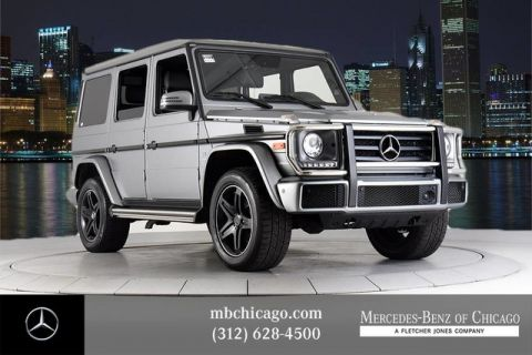 Certified Pre-Owned 2018 Mercedes-Benz G-Class G 550