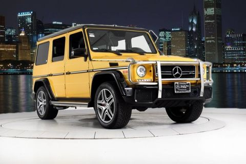Certified Pre-Owned 2016 Mercedes-Benz G-Class AMG® G 63