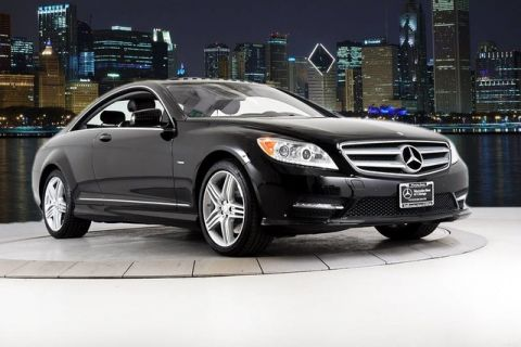 Pre-Owned 2012 Mercedes-Benz CL-Class CL 550