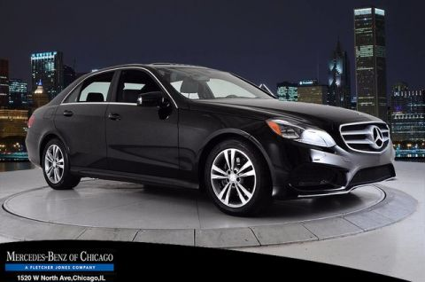 Certified Pre-Owned 2014 Mercedes-Benz E 350 Sport All Wheel Drive 4MATIC® Sedan