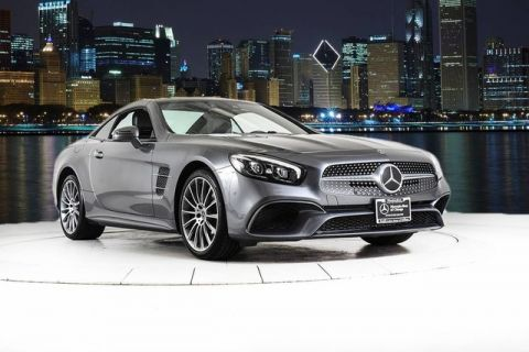 Certified Pre-Owned 2020 Mercedes-Benz SL-Class SL 550