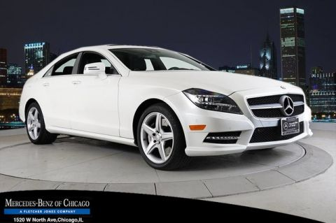 Certified Pre-Owned 2014 Mercedes-Benz CLS 550 SPORT DIAMOND WHITE 18AMG® 4MATIC®