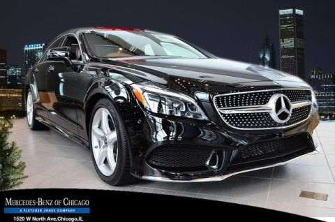 New 2018 Mercedes-Benz CLS 550 All Wheel Drive 4MATIC® Coupe