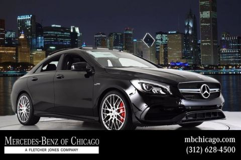 New 2018 Mercedes-Benz-AMG® CLA 45 Coupe 4MATIC®