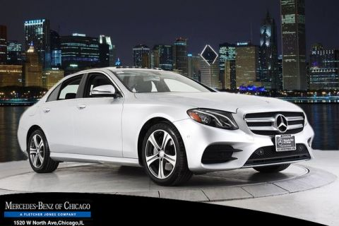 Pre-Owned 2017 Mercedes-Benz E 300 Sport All Wheel Drive 4MATIC® Sedan