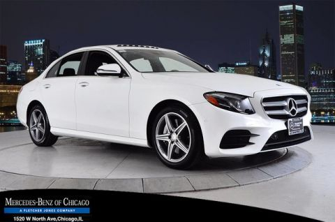 Pre-Owned 2017 Mercedes-Benz E 300 Luxury All Wheel Drive 4MATIC® Sedan