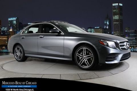 New 2018 Mercedes-Benz E 300 4MATIC®